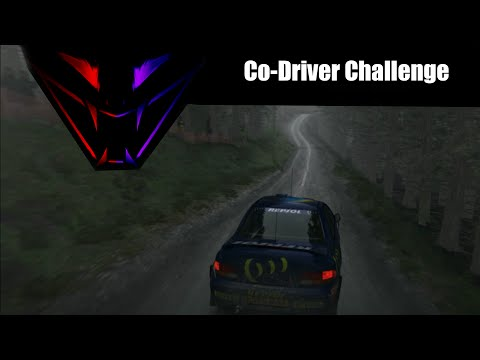 Co-Driver Challenge - Dirt Rally