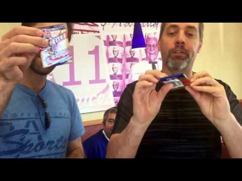 Tri star baseball card show & Tuber highlights