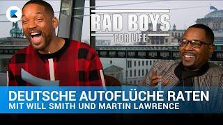 Will Smith & Martin Lawrence erraten deutsche Autoflüche | Bad Boys For Life
