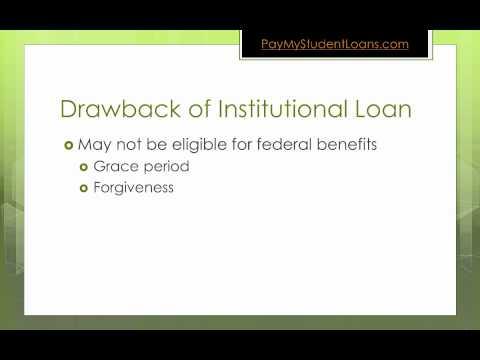 Institutional Student Loan Basics