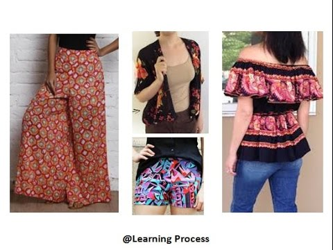 7 ways to Reuse / Recycle old tight or loose skirts | Learning Process