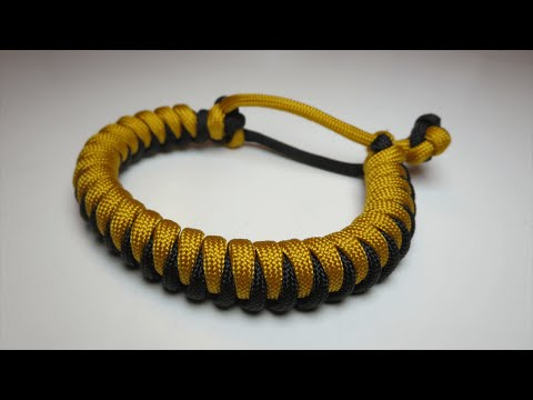 How to make a Cork Screw Paracord Bracelet [MAD MAX] (No Buckle Needed)