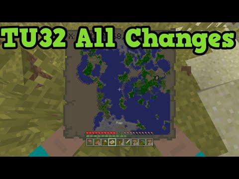 Minecraft Xbox 360 / PS3 TU32 Update Change Log & Release Date