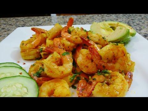 Curry-Garlic Shrimp recipe, easy, delicious, valentine's recipe