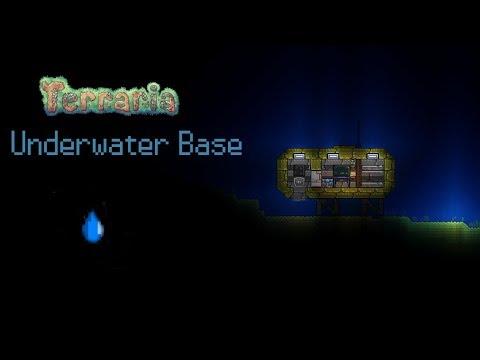 Terraria: Underwater base