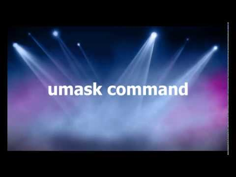 Default permissions using umask command tutorial | Linux Tutorial #23