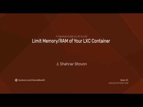 11. Limit Memory/RAM of your LXC Container