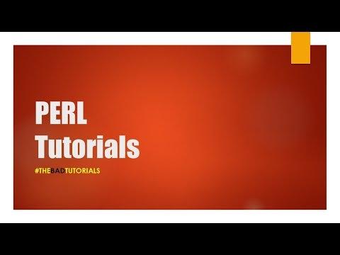 Perl Tutorial - 25: While Loop