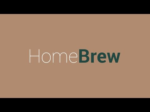 Home Brew: Be your own barista