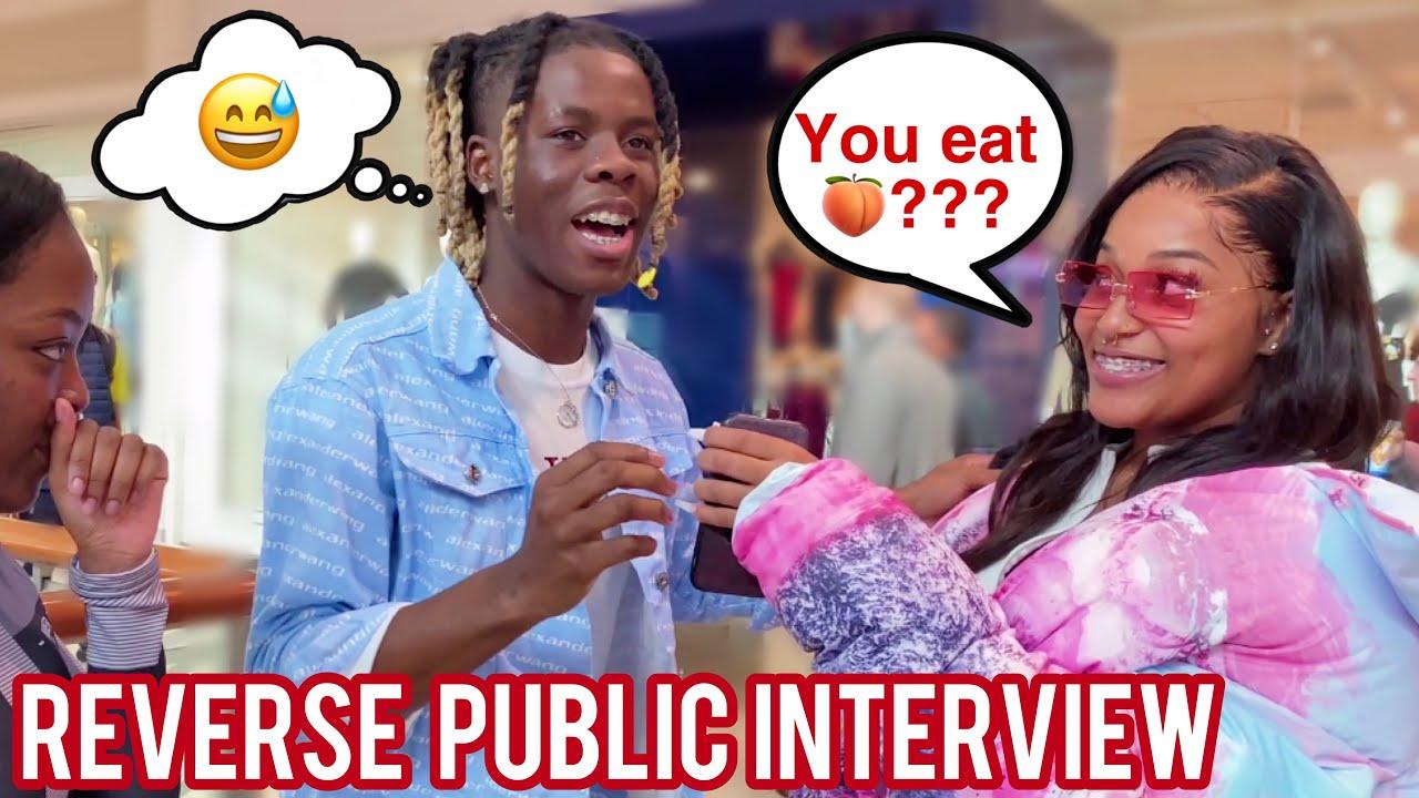 Reverse Public Interview 😭🔁 Atlanta Mall Edition