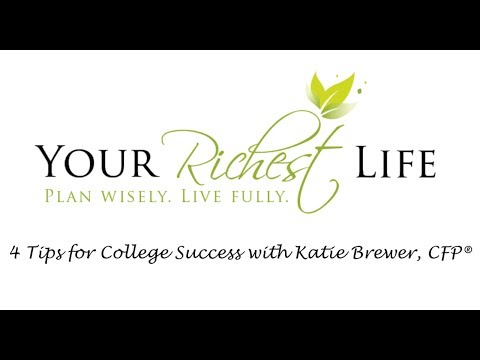 4 Tips For College Success with Katie Brewer, CFP®