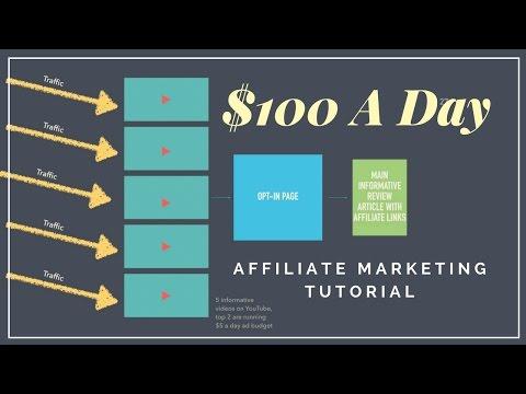 Affiliate Marketing Tutorial - Make $100 A Day