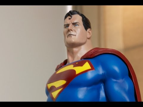 Painting Superman Adopted Son 1/4 Scale Resin Statue