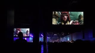World of Warcraft: Battle for Azeroth Cinematic, BlizzCon 2017 Audience Reaction