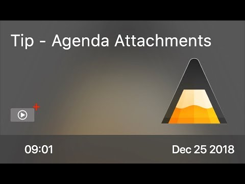 SCOM0798 - Tip - Agenda Attachments