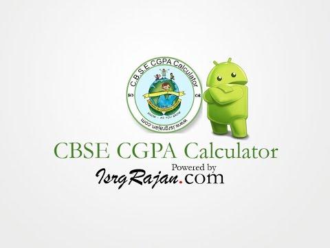 CBSE CGPA Calculator