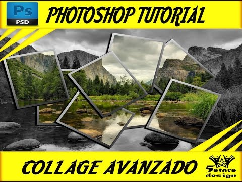 How to make a beautiful collage effect - PHOTOSHOP tutorial