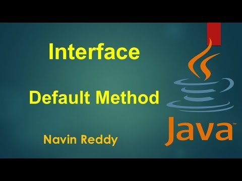 #7.6 Java Tutorial | Default method in Interface