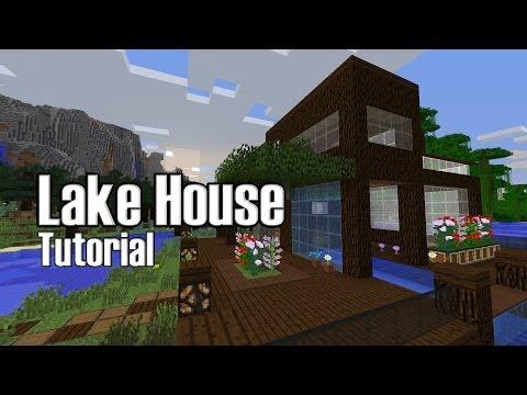 Minecraft Lake House Tutorial