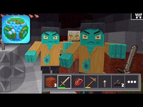 World of Cubes Survival Craft - Gameplay Trailer (iOS)
