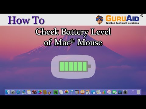 How to Check Battery Level of Mac® Mouse - GuruAid