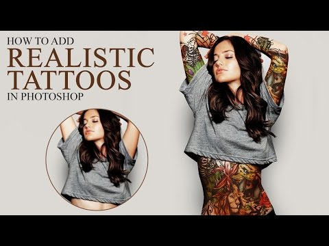 How to Add Realistic Body Tattoo in Photoshop