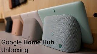Google Home Hub unboxing & set-up