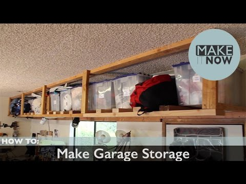 How To: Make Garage Storage