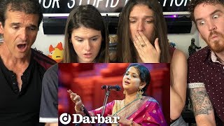Americans React to Kaushiki Chakraborty (Indian Music) Exquisite Afternoon