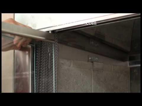 Fireplaces: Installing Glass Door