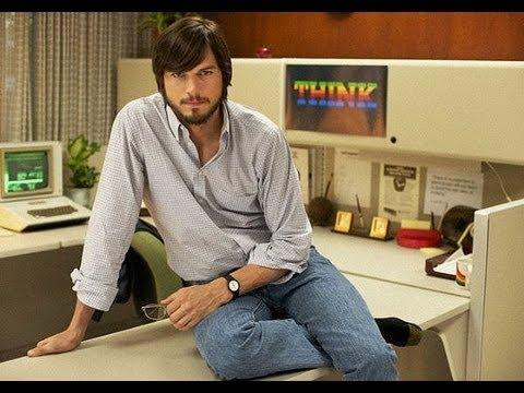 Jobs (2013) starring Ashton Kutcher movie review