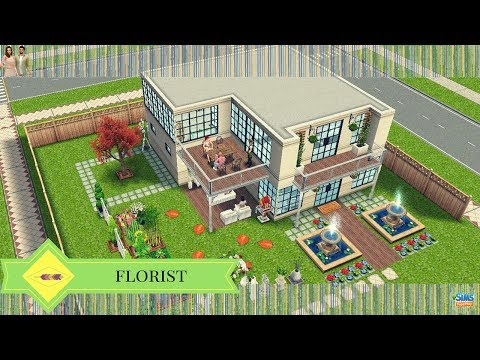 The Sims Freeplay - Florist (Original Design)