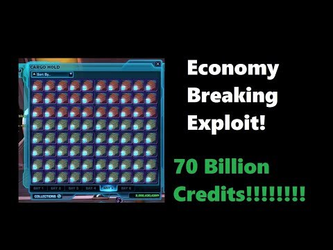 SWTOR: 2.6 Billion Credits in One Day |Largest Exploit in SWTOR|