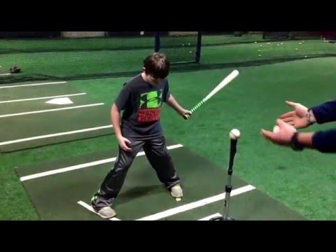 Quinn Wood Bat Hitting Tip #2