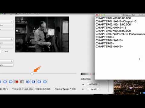 Add Chapters to Videos Free on Mac