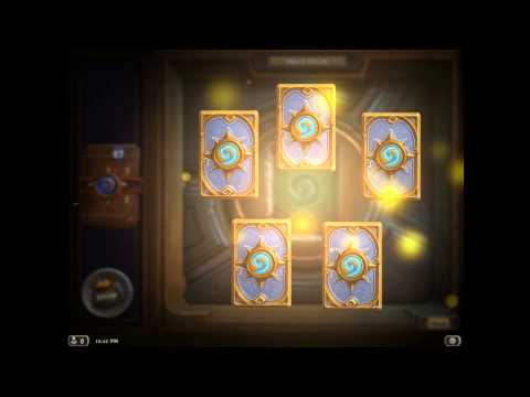 hearthstone opening 40 packs worth 50$. WORTH