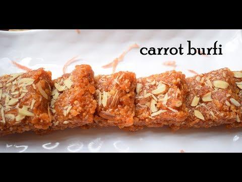 carrot burfi recipe   gajar ki barfi recipe   how to make carrot barfi   gajar ki bufi   gajar barfi