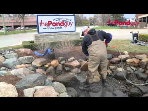 How-To-Video - Spring Pond Clean-Out!
