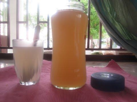 Lemon ginger juice/Summer special juice/Sivakasi Samayal/Recipe - 513