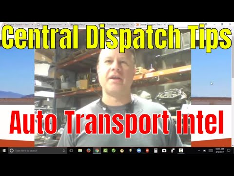 Car Shipping Dispatch Tutorial CarsArrive Central Dispatch Load Boards