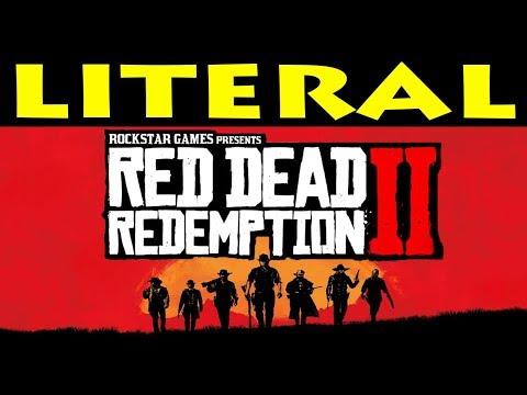 LITERAL Red Dead Redemption 2 Trailer