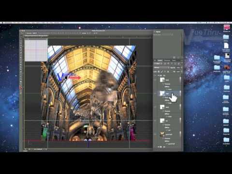 3D Dinosaur Project (Photoshop CS6 & CC)