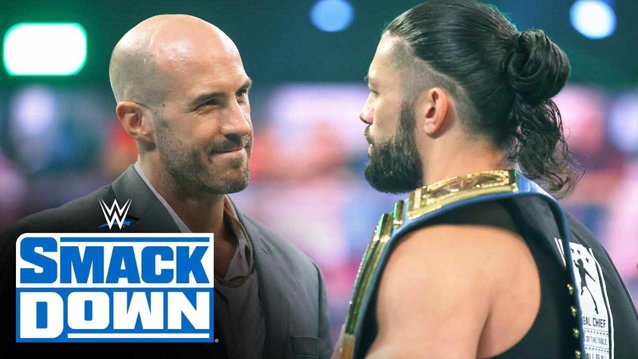 Roman Reigns disrespects Cesaro: SmackDown, April 16, 2021