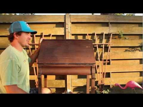 How-to Paint/Distress/Antique Furniture &