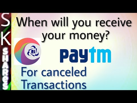 When will you receive money for IRCTC PayTM failed payment