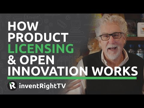 How Product Licensing & Open Innovation Works