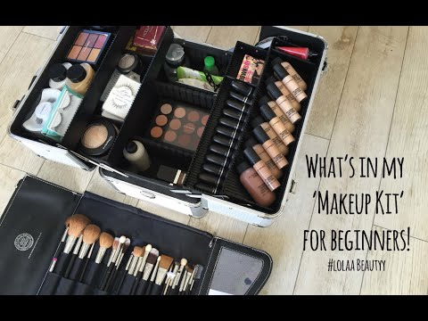 Starting to Freelance my 'Beginners' Makeup Kit #Lolaa Beautyy