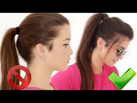 How to: High Ponytail