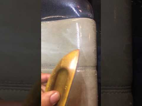 How to Clean Leather Seats  Fast Inside Car  /Plus other parts of interior  Using 7/22mix