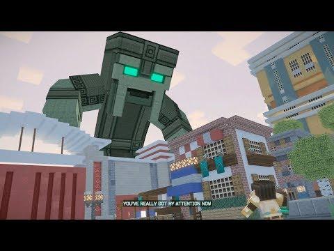 Fidget Spinner Time!  Minecraft Story Mode Season 2 Episode 1 Part 3 Twin Toys Kids